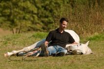 Bailador und Denny Nellessen Lehrstunde bei Kraemer Pferdesport